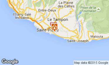 Carte Saint Pierre (R�union) Villa 102123