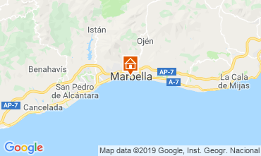 Carte Marbella Appartement 118448
