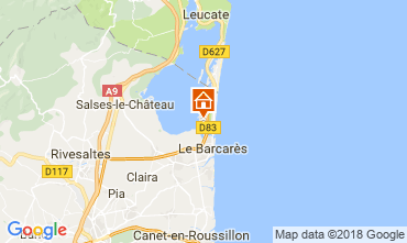 Carte Le Barcares Appartement 113663