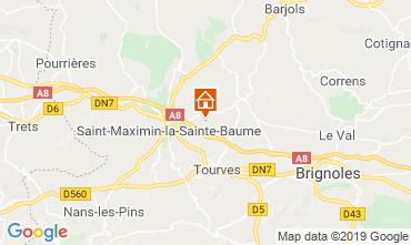 Carte Saint Maximin la Sainte Baume Appartement 119417