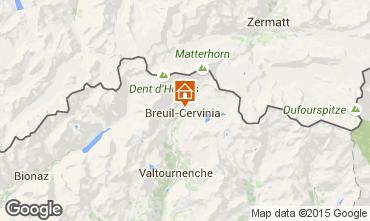 Carte Cervinia (Breuil) Appartement 89092