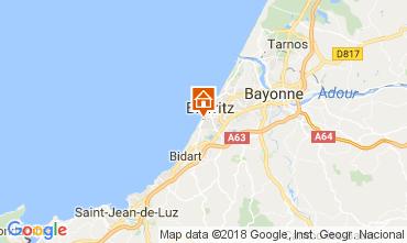 Carte Biarritz Appartement 112856