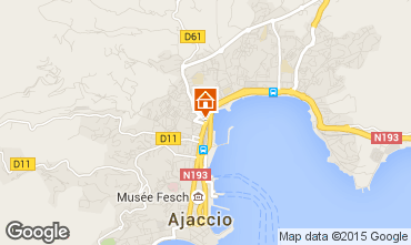 Carte Ajaccio Appartement 82594