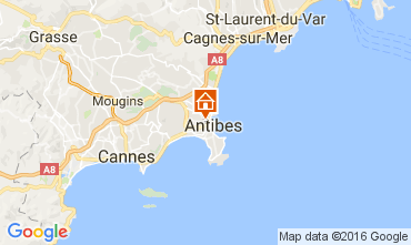 Carte Antibes Appartement 106323