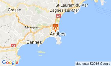 Carte Antibes Appartement 106323