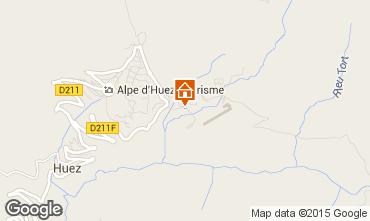 Carte Alpe d'Huez Appartement 40228
