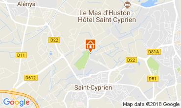 Carte Saint Cyprien Villa 113395