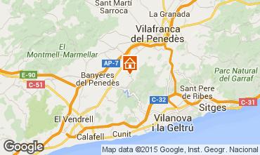 Carte Sitges Villa 72356
