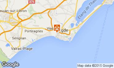 Carte Agde Mobil-home 6167