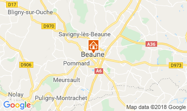 Carte Beaune Appartement 116813