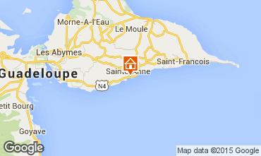 Carte Sainte Anne (Guadeloupe) Studio 97776
