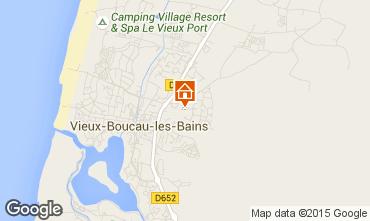 Carte Vieux Boucau Villa 96713