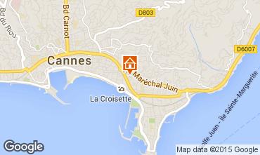 Carte Cannes Appartement 92869