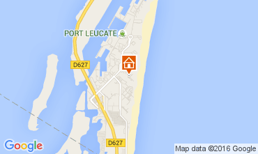 Carte Port Leucate Studio 6312
