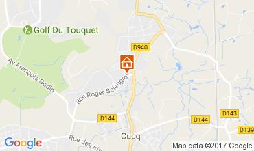 Carte Le Touquet Maison 84445