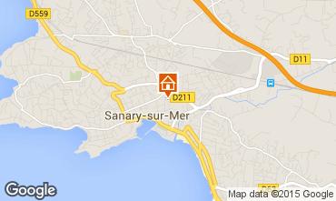 Carte Sanary Appartement 60723