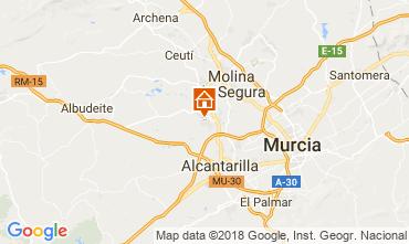Carte Murcie Villa 113991