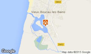 Carte Vieux Boucau Appartement 10073