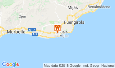 Carte La Cala de Mijas Appartement 116308