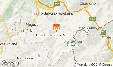 Carte Les Contamines Montjoie Chalet 971