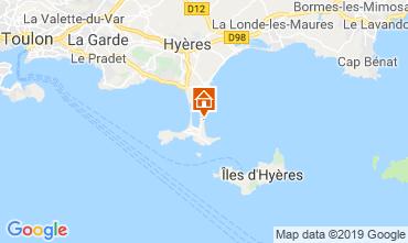 Carte Hyères Appartement 118190