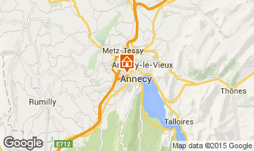 Carte Annecy Studio 79533