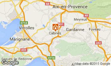 Carte Aix en Provence Villa 56038