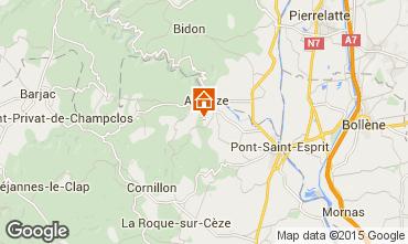 Carte Saint-Julien-de-Peyrolas Villa 100704