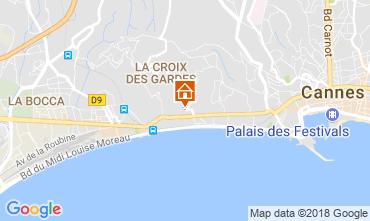 Carte Cannes Appartement 114426