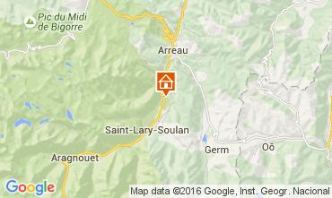 Carte Saint Lary Soulan Appartement 41177