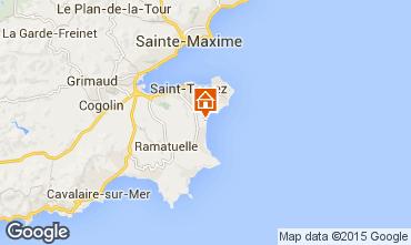 Carte Saint Tropez Mobil-home 5678