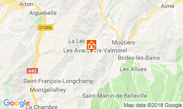Carte Valmorel Appartement 59108