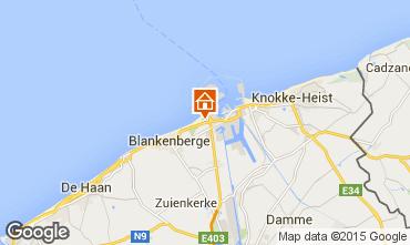 Carte Bruges Appartement 100264