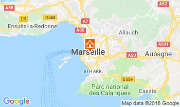 Carte Marseille Studio 5963