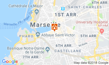 Carte Marseille Studio 5963