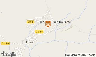 Carte Alpe d'Huez Studio 73434