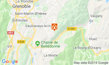 Carte Chamrousse Appartement 30487