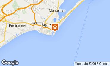 Carte Cap d'Agde Villa 84840