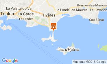 Carte Hyères Villa 106297