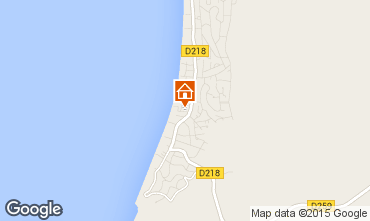 Carte Pyla sur Mer Villa 75061