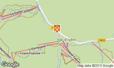 Carte Val d'Isère Appartement 50921