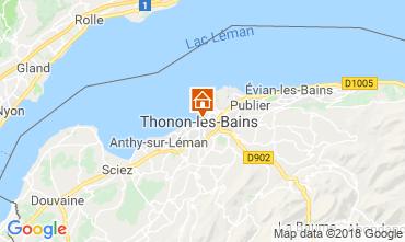 Carte Thonon Les Bains Appartement 114583