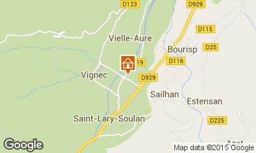 Carte Saint Lary Soulan Appartement 79284