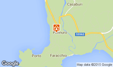 Carte Palinuro Appartement 64116