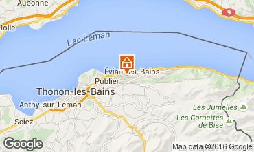 Carte Evian les Bains Appartement 102399