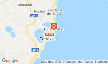 Carte Torrevieja Appartement 117796