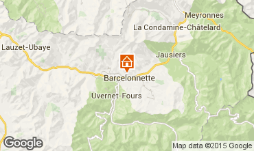 Carte Barcelonnette Appartement 2312