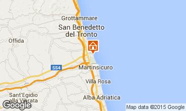 Carte San Benedetto del Tronto Appartement 85875