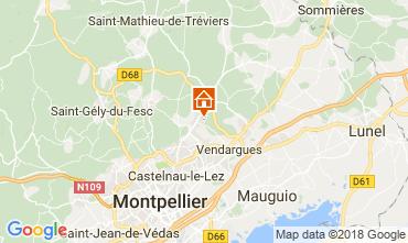 Carte La Grande Motte Villa 114207