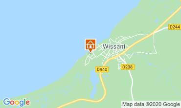 Carte Wissant Villa 106031